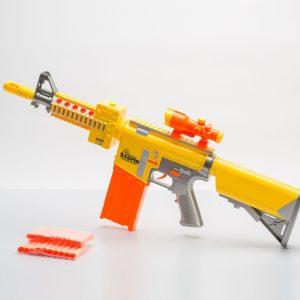 רובה אוויר צלפים עם חיצים מספוג -