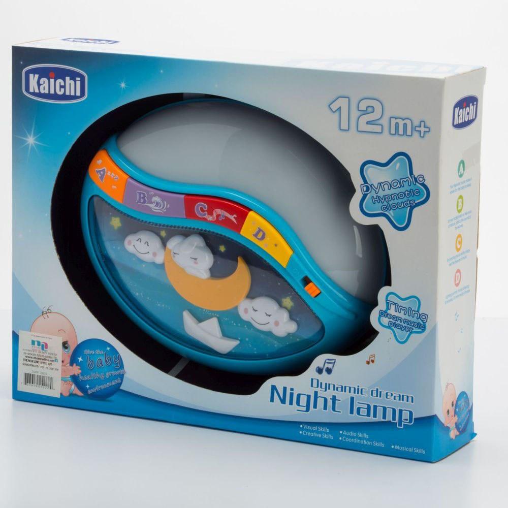 מנורת חלומות מנגנת ומדליקה אורות לתינוקות
