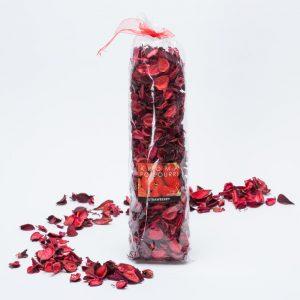 פוטפורי עלים יבשים בצבע אדום