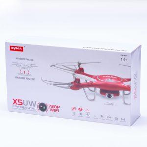 רחפן סימה SYMA X5UW עם מצלמת HD ושלט רחוק -