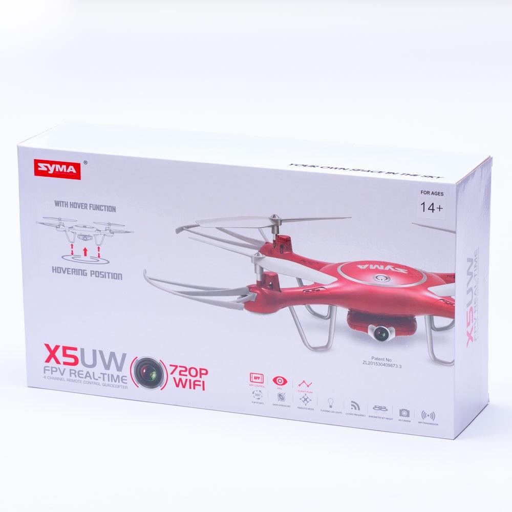 רחפן סימה SYMA X5UW עם מצלמת HD ושלט רחוק