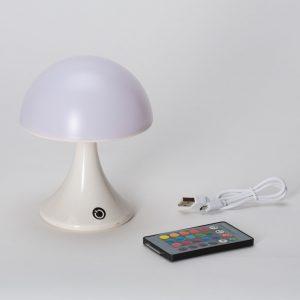 מנורת לילה מעוצבת USB פטרייה עם אורות לד צבעוניים לחדרי ילדים