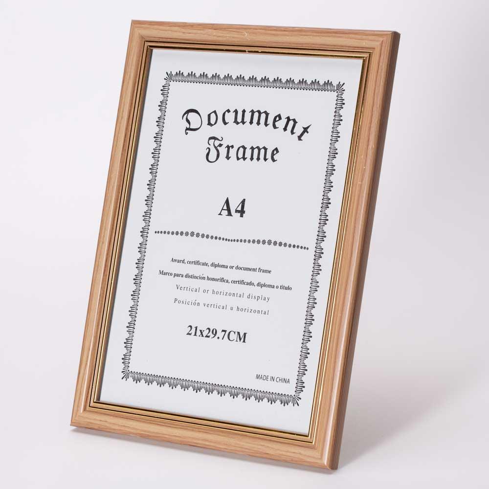 מסגרת לתמונה שולחנית חומה מעץ 26X34.5