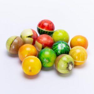 כדור ספוג פירות למשחק ועיסוי 7.5 סמ -