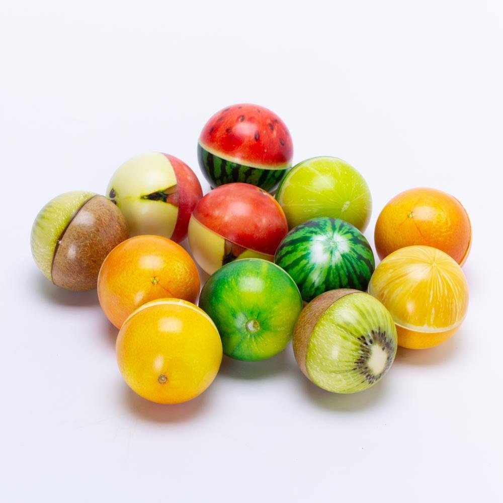 כדור ספוג פירות למשחק ועיסוי 7.5 סמ