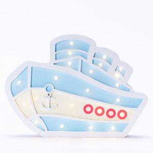 מנורת לילה לילדים מעוצבת אוניה לד LED -