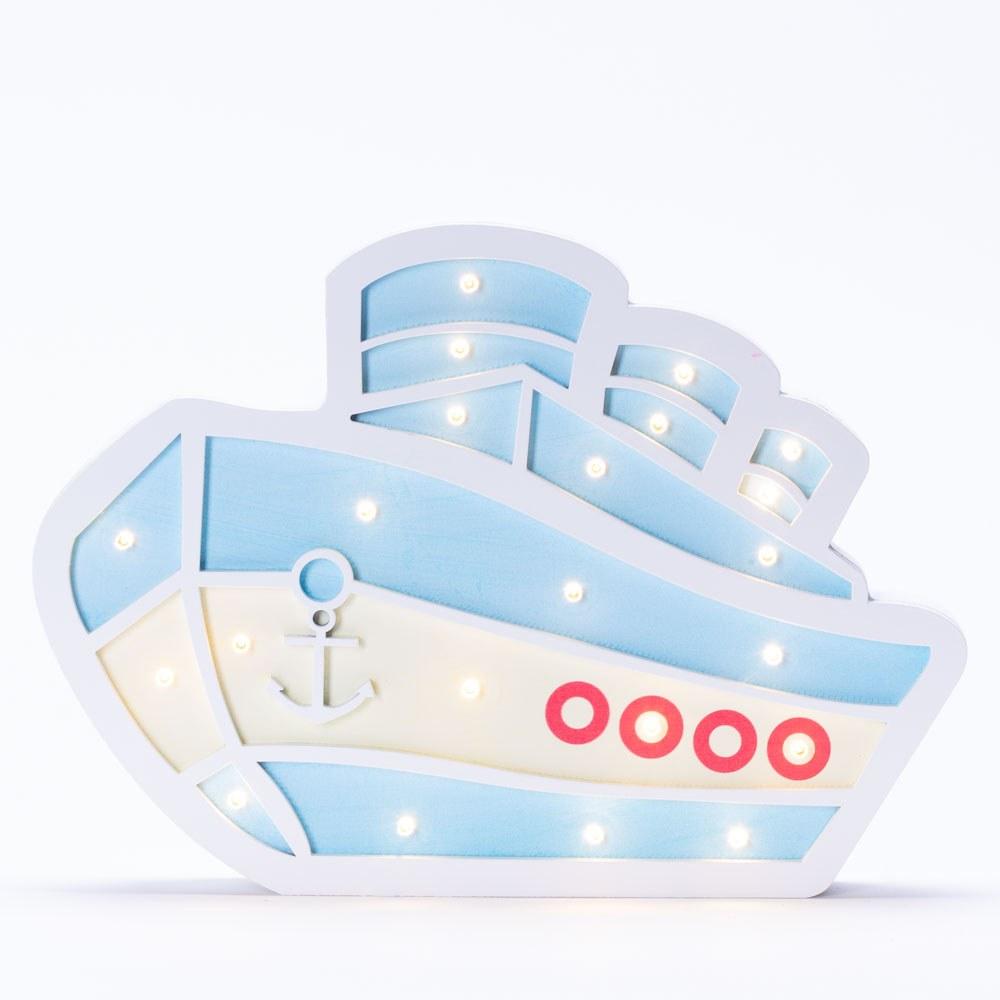 מנורת לילה לילדים מעוצבת אוניה לד LED