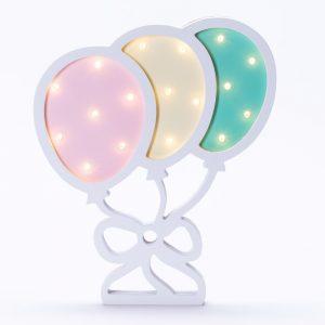 מנורת לילה לילדים מעוצבת בלונים לד LED -