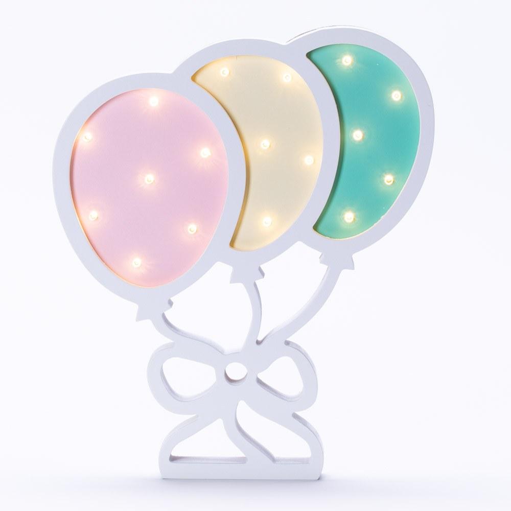 מנורת לילה לילדים מעוצבת בלונים לד LED