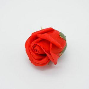 פרח סבון בודד ורד בצבע אדום -
