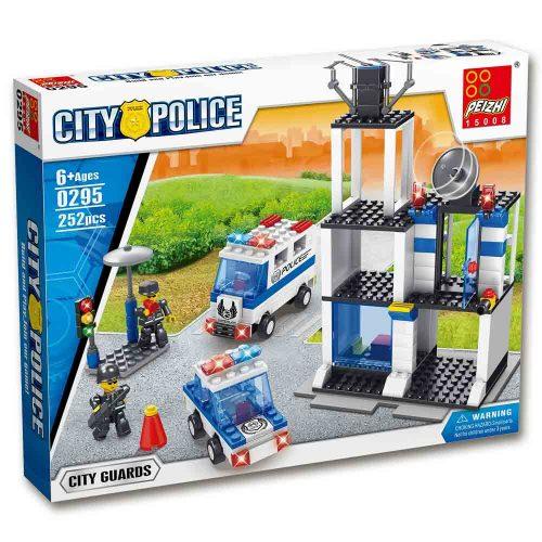 משחק הרכבה לגו תחנת משטרה 252 חלקים K200430