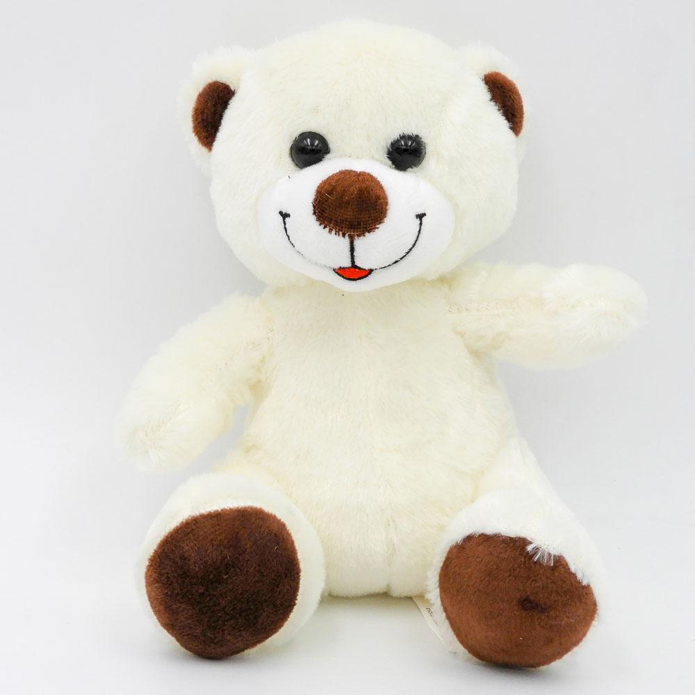 """דובי קטן חום או שמנת 20 ס""""מ חלק K100252-2"""