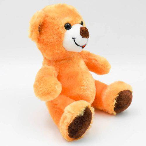 """דובי קטן חום או שמנת 20 ס""""מ חלק צד שמאל צבע חום"""