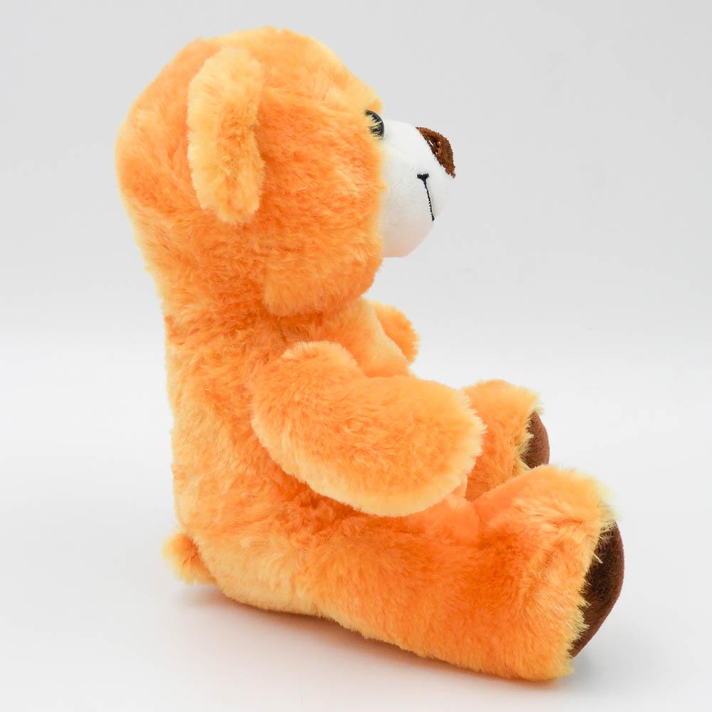 """דובי קטן חום או שמנת 20 ס""""מ חלק תמונת פרופיל צבע חום"""