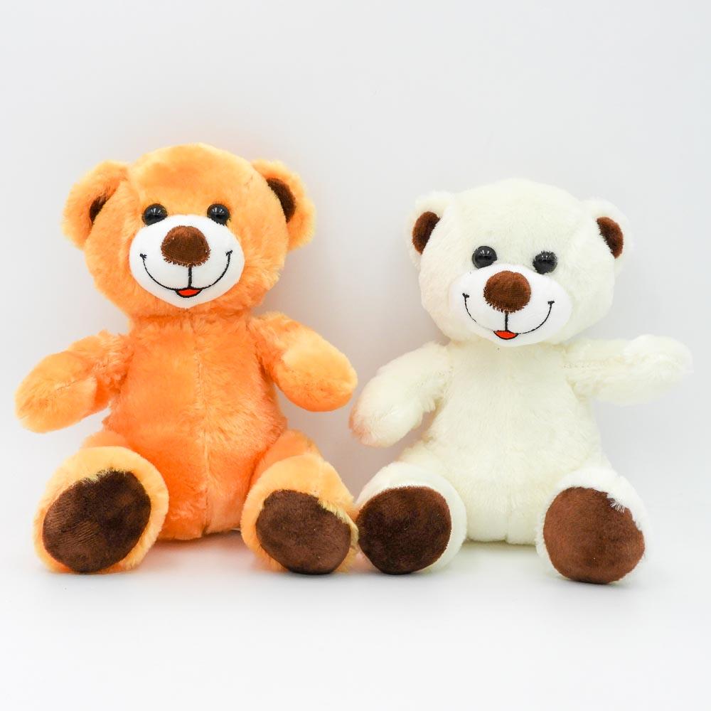 """דובי קטן חום או שמנת 20 ס""""מ חלק K100252"""