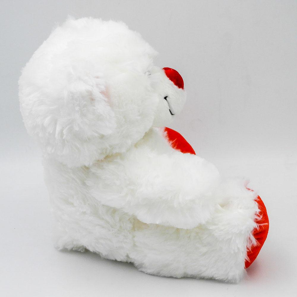 """דובי לבן חלק בגודל 29 ס""""מ תמונת פרופיל"""